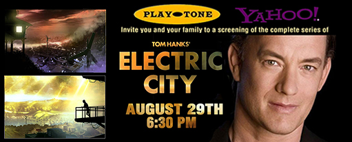 Screening of Tom Hanks' Electric City