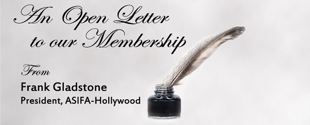 An Open Letter To Our ASIFA-Hollywood Membership