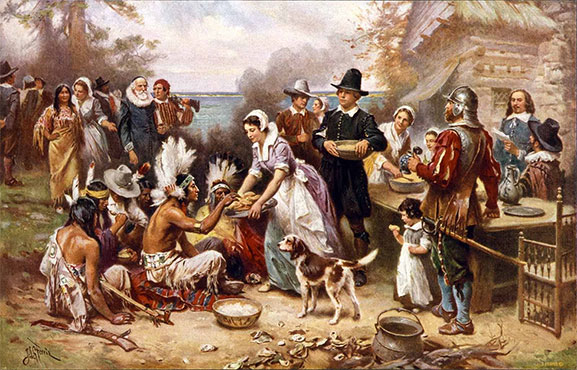 thankgiving-history