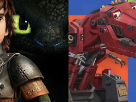 DreamWorks' Netflix Original Series 'Dragons: Race to the Edge' and 'Dinotrux'