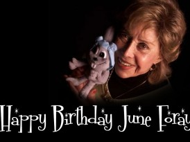 Social Media: Birthday Greetings for June Foray