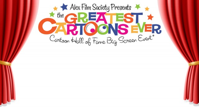 Join the Alex Film Society, Jerry Beck and Frank Gladstone for the Greatest Cartoons Ever!