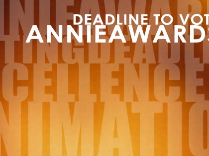Voting for the 44th Annie Awards Has Begun! Annie Ballot Deadline is January 23rd
