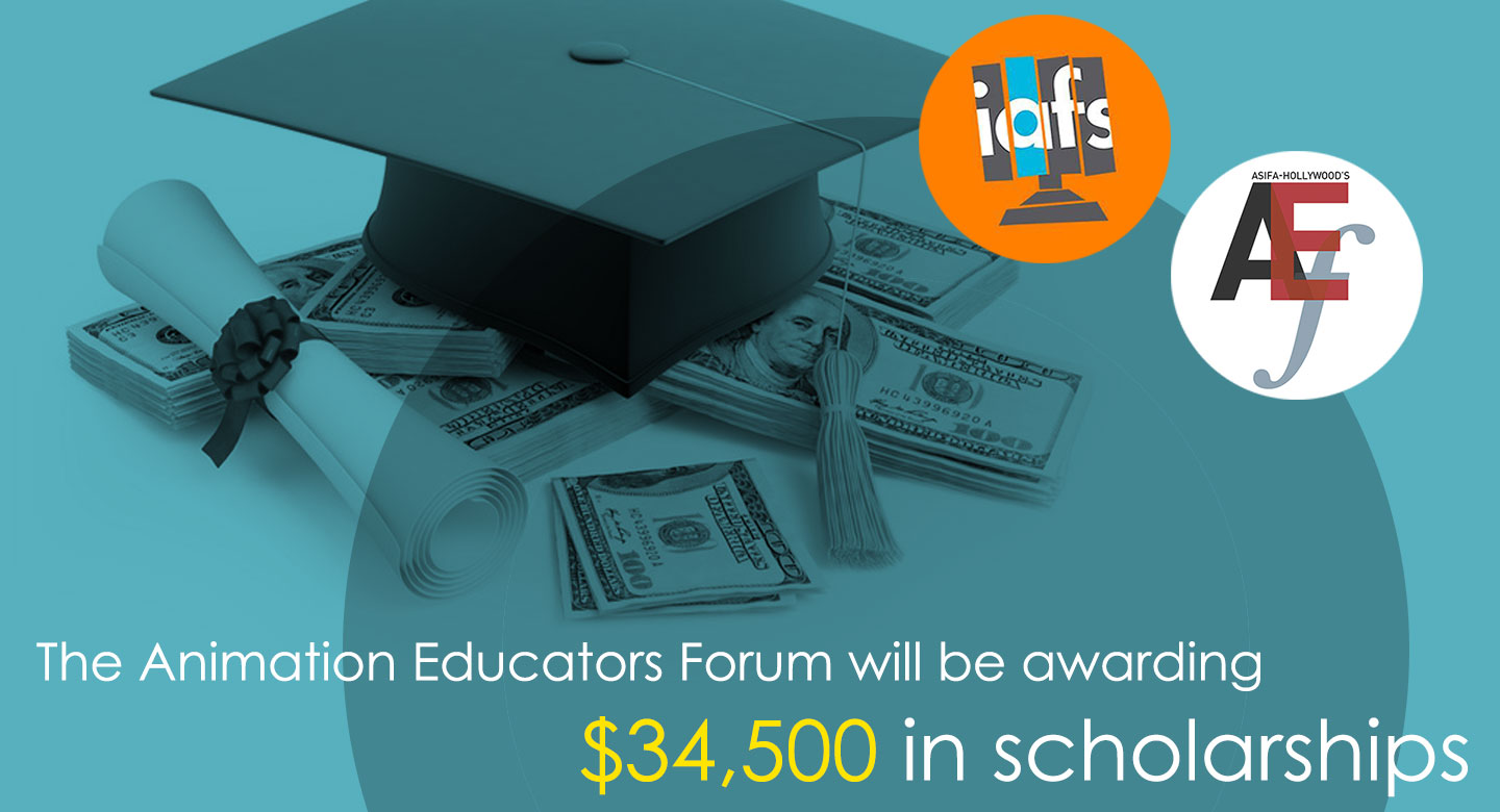 The Animation Educators Forum Will Be Awarding $34,500 in Scholarships