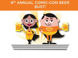 8th Annual San Diego Comic-Con Beer Bust