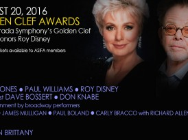 The La Mirada Symphony's Golden Clef Awards Honors Roy Disney