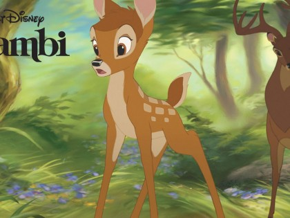 At the Cinematheque: BAMBI on the Big Screen