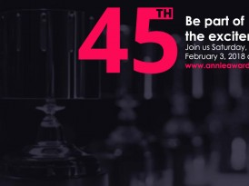 VIP Tickets On Sale for the 45th Annie Awards