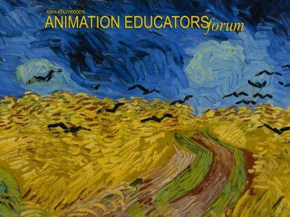 Press Release: Animation Educators Forum Announce 2018-19 Student Scholarship Recipients