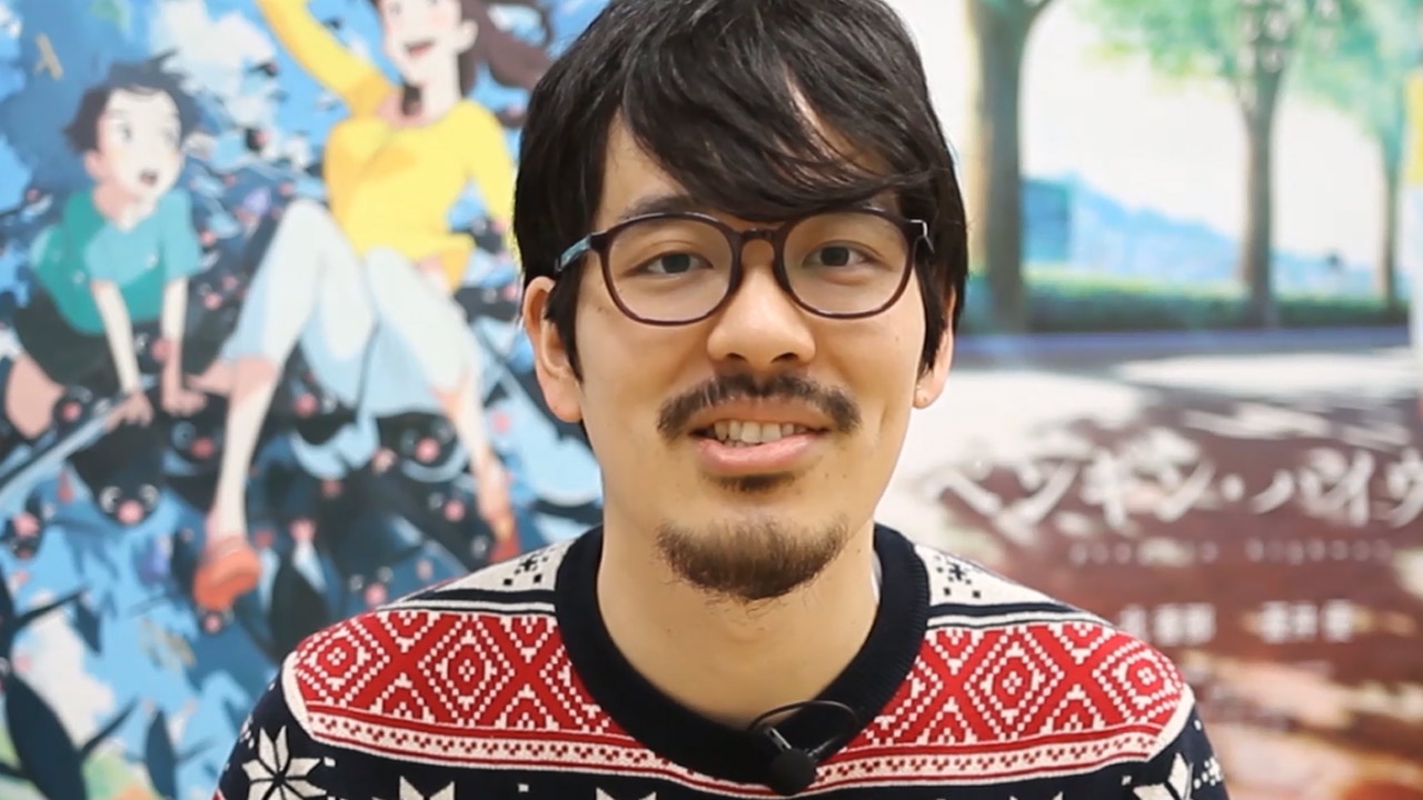 Greetings from Penguin Highway Director Hiroyasu Ishida